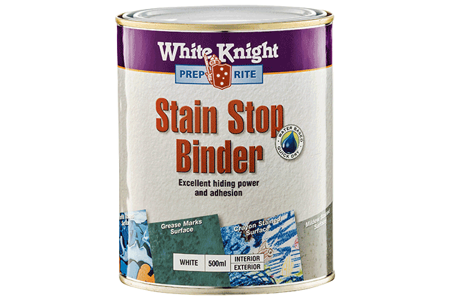 White Knight® Prep Rite Stain Stop Binder
