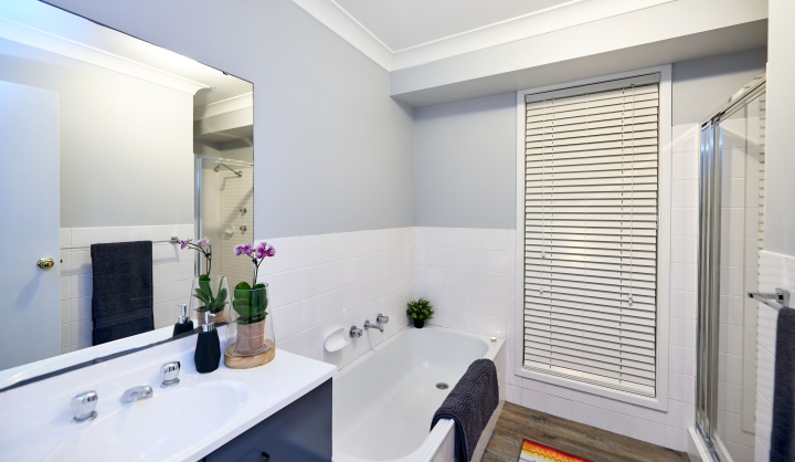 Transform your bathroom tiles with ease